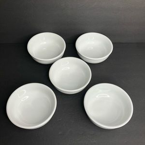 "5 Williams-Sonoma Everyday Dinnerware 5.5"" Bowls"